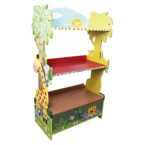 Sunny Safari Bookshelf