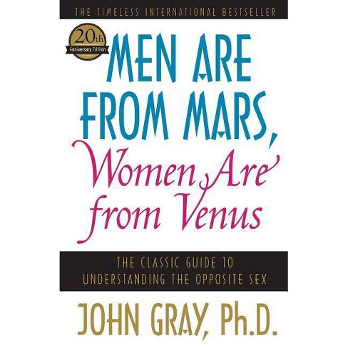 Men Are from Mars, Women Are from Venus - by  John Gray (Paperback) - image 1 of 1