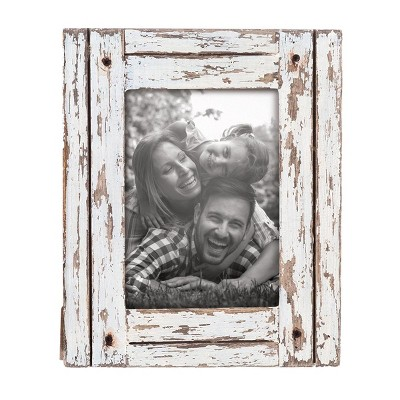 Decorative Distressed Wood Picture Frame - Foreside Home & Garden