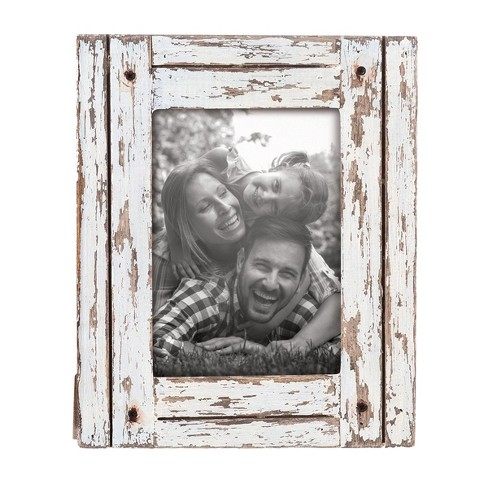 Decorative Distressed Wood Picture Frame Foreside Home Garden Target