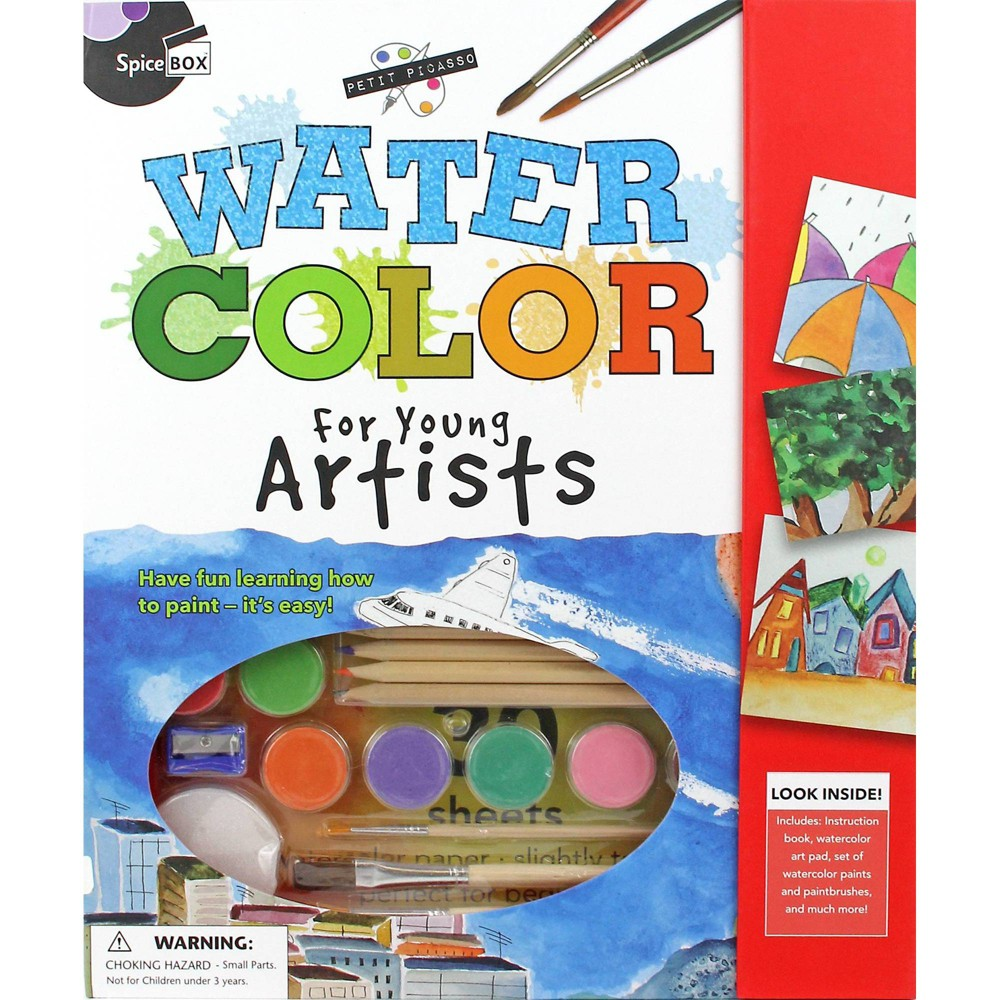 Watercolor Painting Set Spicebox
