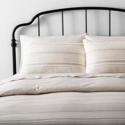 Duvet Cover Set Linen Blend Yarn Dye Stripe - Hearth & Hand™ with Magnolia