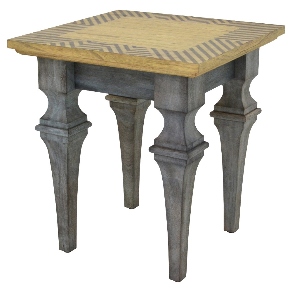 Patina Vie Rue Montmarte Gray Accent Table - Gray - 222 Fifth