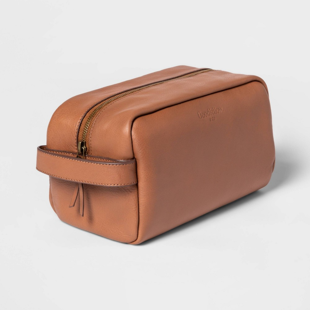 Classic Top Cow Leather Dopp Kit Goodfellow 38 Co 8482
