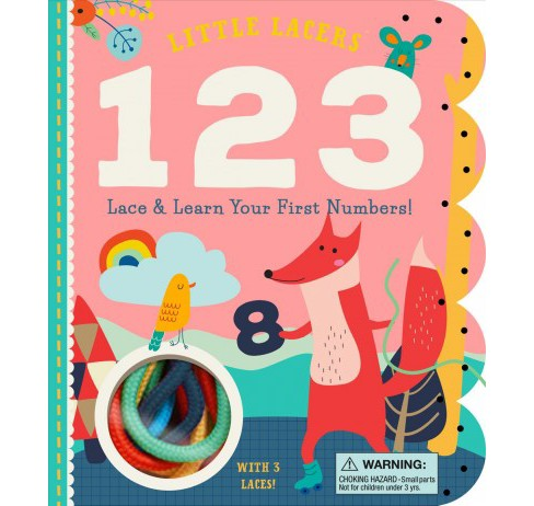 Little Lacers - Numbers : Lace & Learn Your First Numbers! -  by Forrest Everett (Hardcover) - image 1 of 1