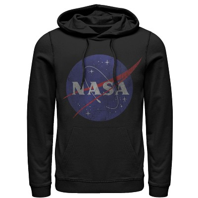 Men's NASA Logo Pull Over Hoodie