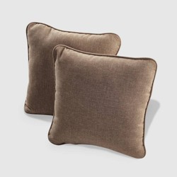 Rolston 2pk Outdoor Throw Pillow - Grand Basket