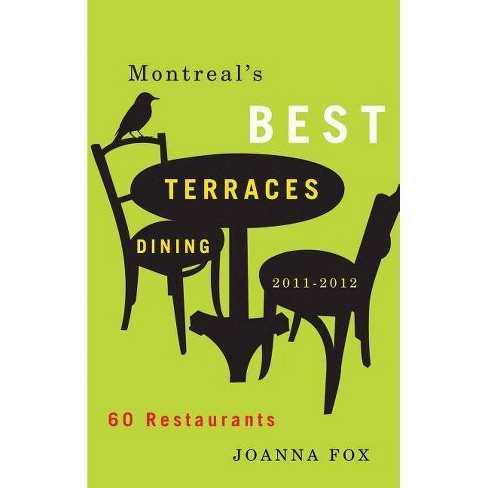 Montreal's Best Terrasses Dining - by  Joanna Fox (Paperback) - image 1 of 1