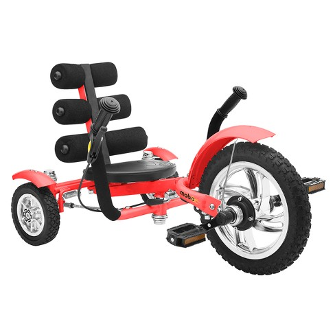 "Mobo Mini 12"" Three Wheeled Cruiser Tricycle - Red - image 1 of 5"