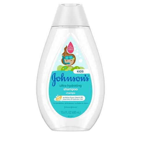 Johnson's Kids Ultra Hydrating Shampoo - 13.6 fl oz - image 1 of 4