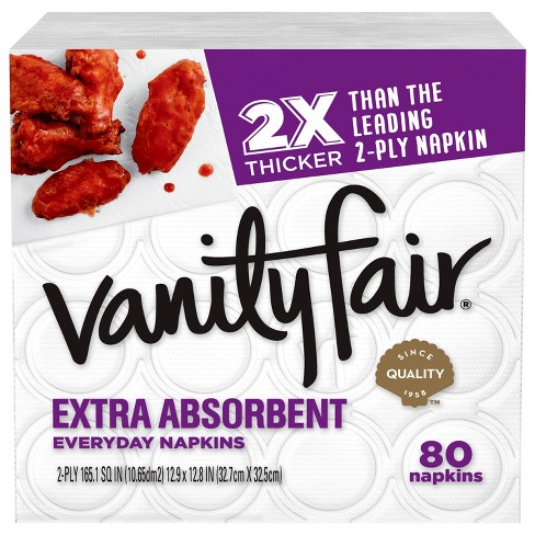 Vanity Fair Extra Absorbent Disposable Napkins - image 1 of 4