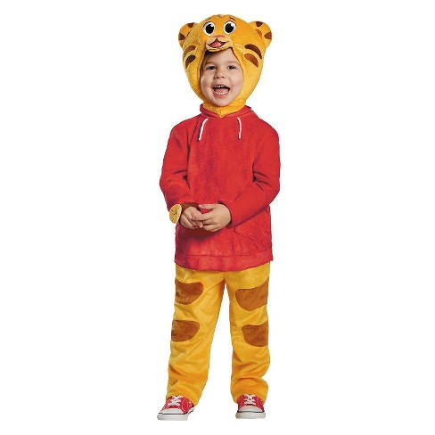 Daniel Tiger Deluxe Toddler Costume - Orange (18 Months-2T) - image 1 of 1