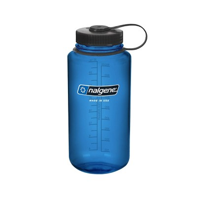 Nalgene 32oz Wide Mouth Water Bottle - Blue