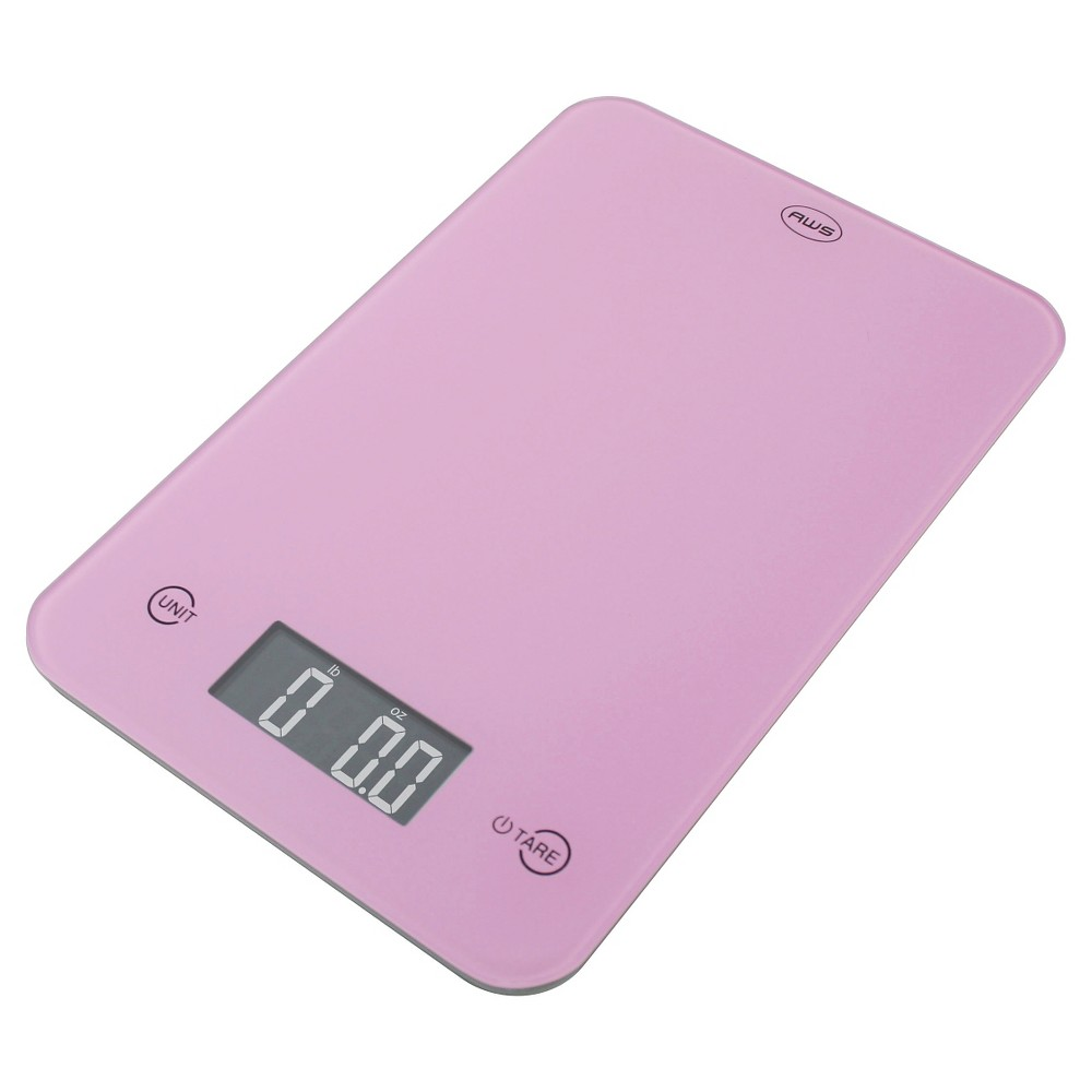 American Weigh Aws Digital Kitchen Scale - Pink