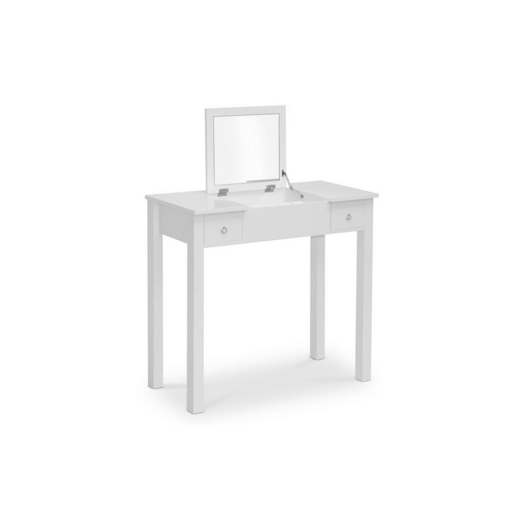 Wessex Vanity Table White - Baxton Studio