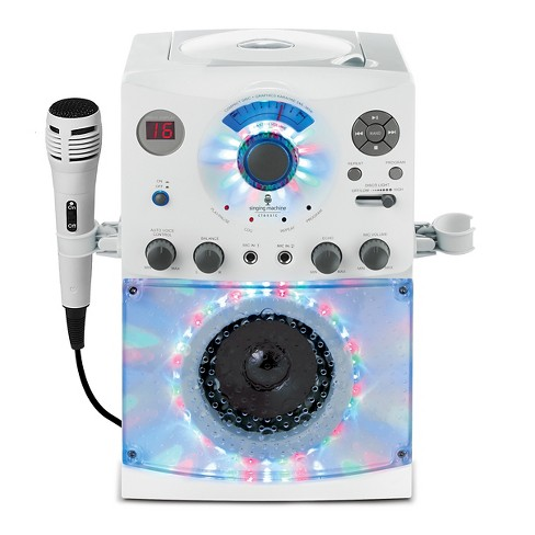 Singing Machine SML385W Top LoadingCDG Player with Disco Light Effect - image 1 of 4