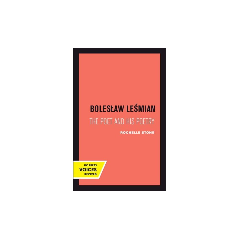 Boleslaw Lesmian : The Poet and His Poetry - by Rochelle Heller Stone (Paperback)