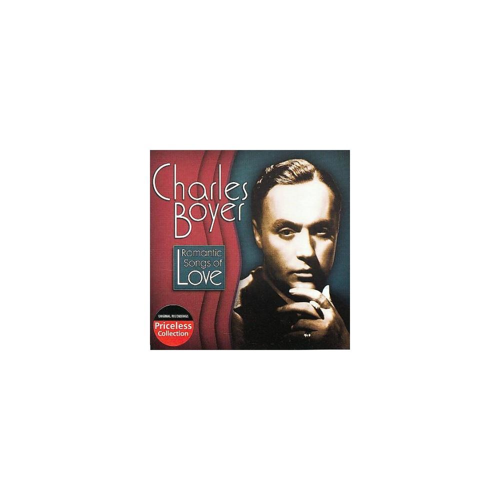 Charles Boyer - Romantic Songs Of Love (CD)