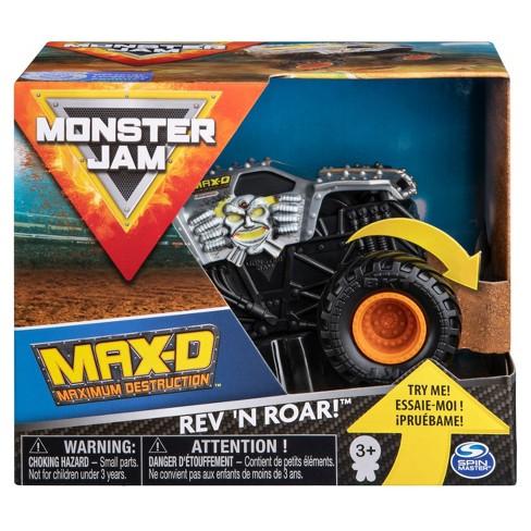 Monster Jam (Rev & Rumble) Trucks - Max D - 1:43  Scale - image 1 of 4