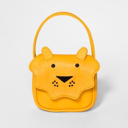 cc68f9b3ce Toddler Girls  Lion Handbag Strap - Cat   Jack™ Yellow   Target