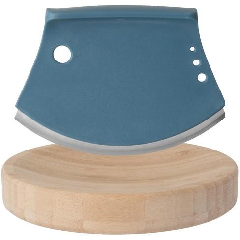 "BergHOFF Leo 2Pc 6.25"" Bamboo Herb Cutter Set, Blue - image 1 of 3"