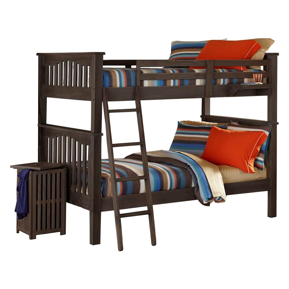 Full Over Full Highlands Harper Bunk Bed Espresso (Brown) - Hillsdale Furniture