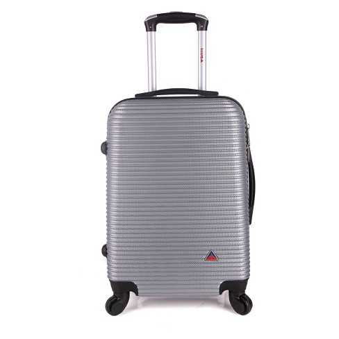 "InUSA Royal 24"" Hardside Spinner Suitcase - Silver - image 1 of 6"