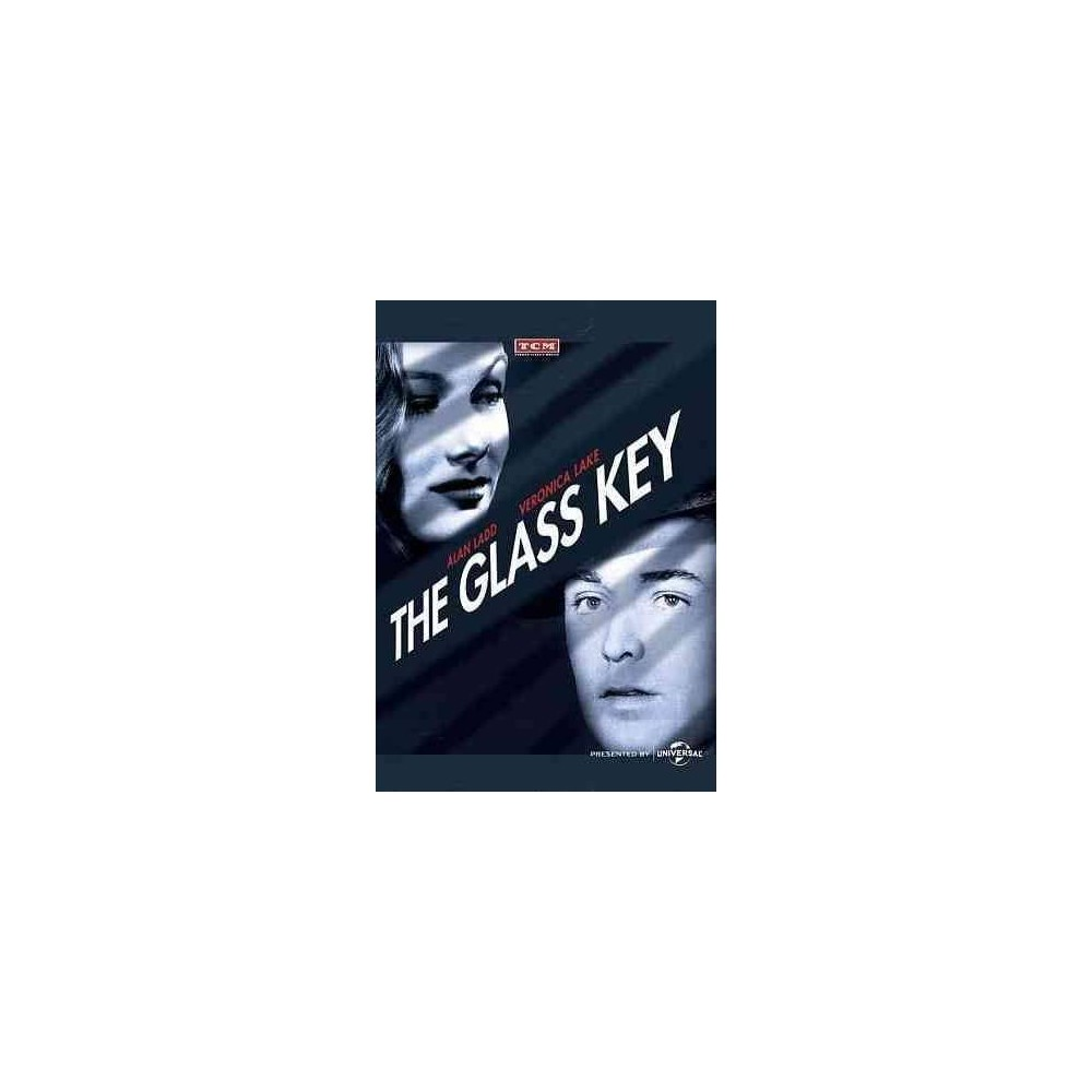 Glass Key (Dvd), Movies A classic film noir, this murder mystery is based on the the Dashiell Hammet novel and said to be the inspiration for Akira Kurosawa's Yojimbo. When a corrupt politician (Brian Donlevy) is accused of murder, his assistant (Alan Ladd) hunts the real killer, avoiding amorous advances from his boss' fiancée (Veronica Lake) and attacks from gangsters along the way. The cold, clinical detachment of noir mainstays and frequent collaborators Ladd, Lake, and henchman William Bendix stand in stark contrast to the relative warmth of Donlevy, which all serves to capture Hammet's cynical voice and make this Glass Key an arguably better version than the 1935 film of the same name.