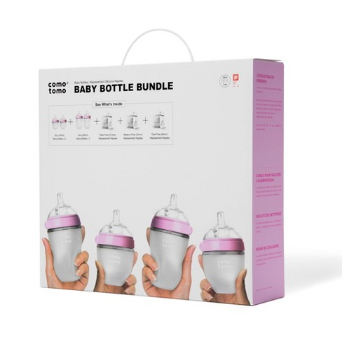 Comotomo Baby Bottle Gift Set - image 1 of 4