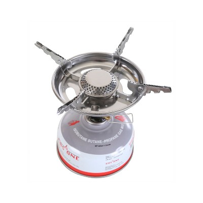 Stansport Isobutane Backpack Stove - Silver