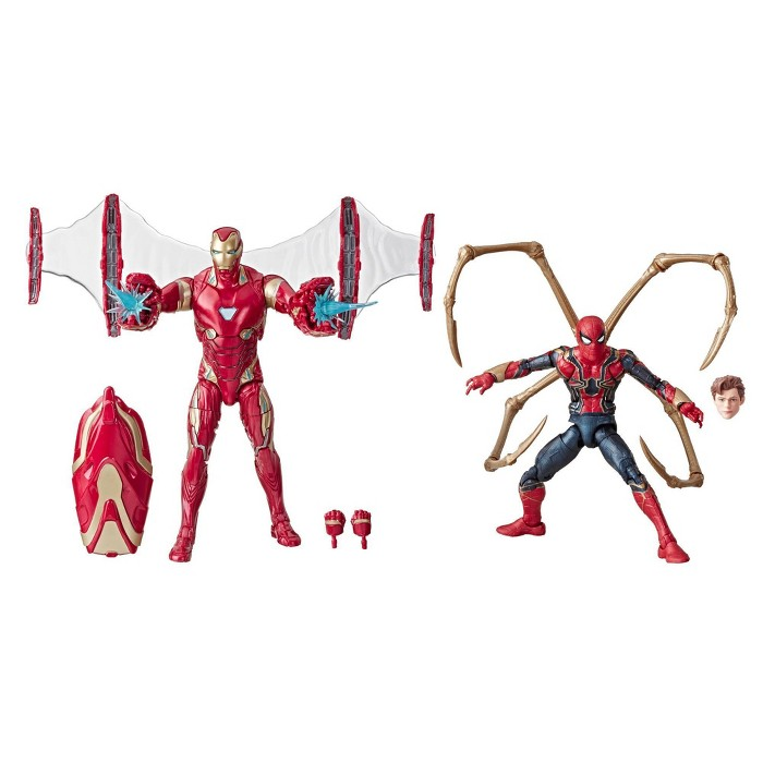"Marvel Legends Series Avengers: Infinity War 6"" Movie-Inspired Iron Man And Iron Spider 2-Pack (SDCC Debut) - image 1 of 9"