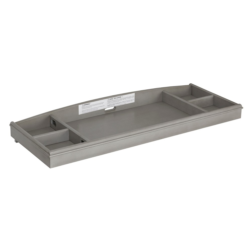 Baby Cache Windsor Changing Table - Ash Gray