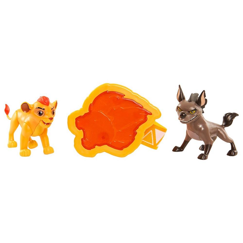 Lion Guard Rival 2 Pack Kion vs Janja, Multi-Colored
