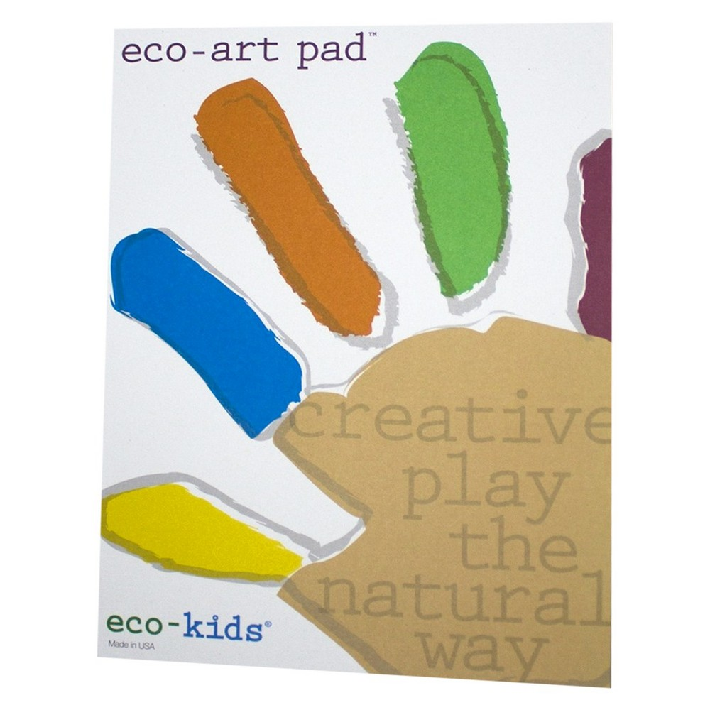 Image of Eco-Kids Eco-Art Pad, coloring books