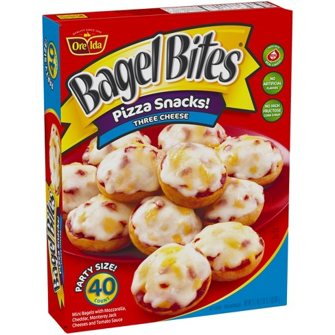 Ore-Ida Three Cheese Frozen Bagel Bites - 40ct/31.1oz - image 1 of 3