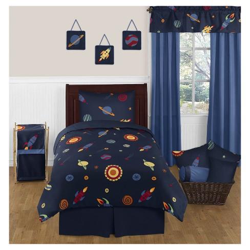 Navy Space Galaxy Comforter Set Twin Sweet Jojo Designs Target