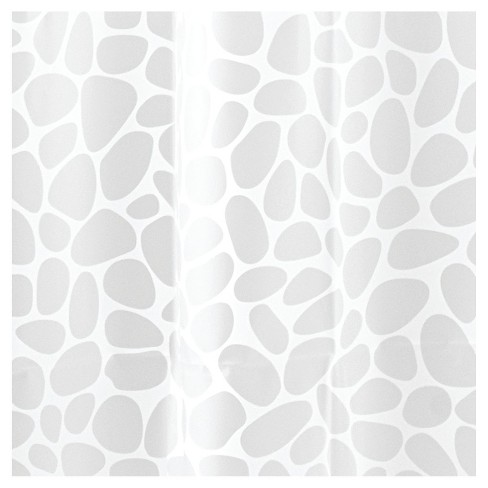 Pebblz View Shower Curtain - iDESIGN - image 1 of 2