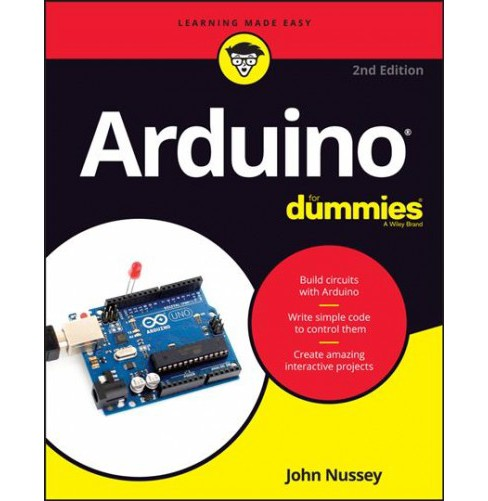 Arduino for Dummies -  2 (For Dummies (Computer/Tech)) by John Nussey (Paperback) - image 1 of 1