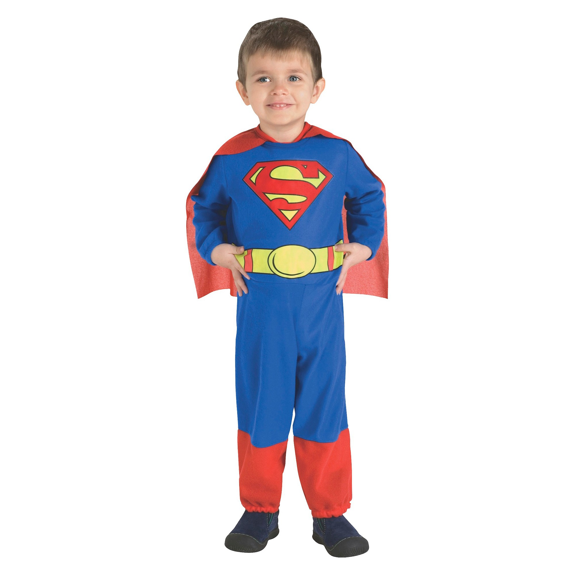 Halloween Superman Toddler Costume 2T-4T, Men's, Clear