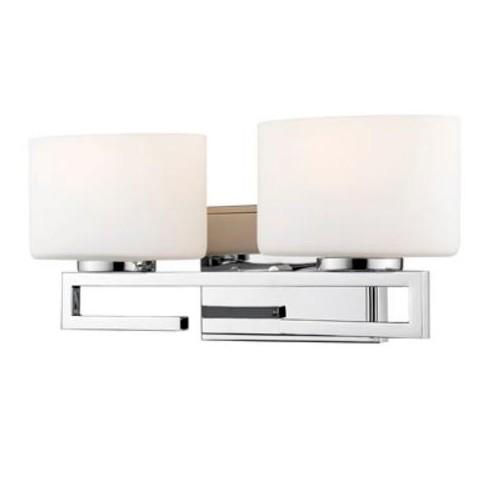Z Lite 335 2v Led Privet 2 Light 16 Wide Integrated Led Bathroom