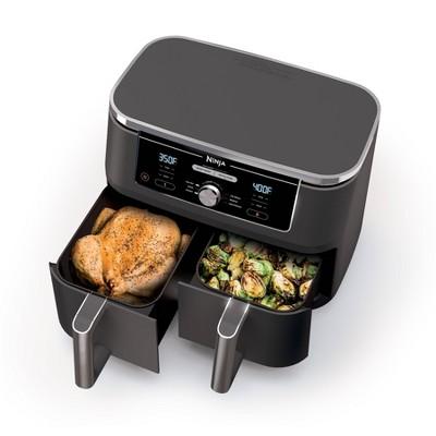 Ninja Foodi XL 6-in-1 10qt XL 2-Basket Air Fryer with DualZone - Black - DZ401