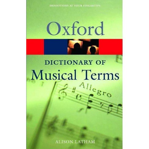 The Oxford Dictionary of Musical Terms - (Oxford Paperback Reference) (Paperback) - image 1 of 1