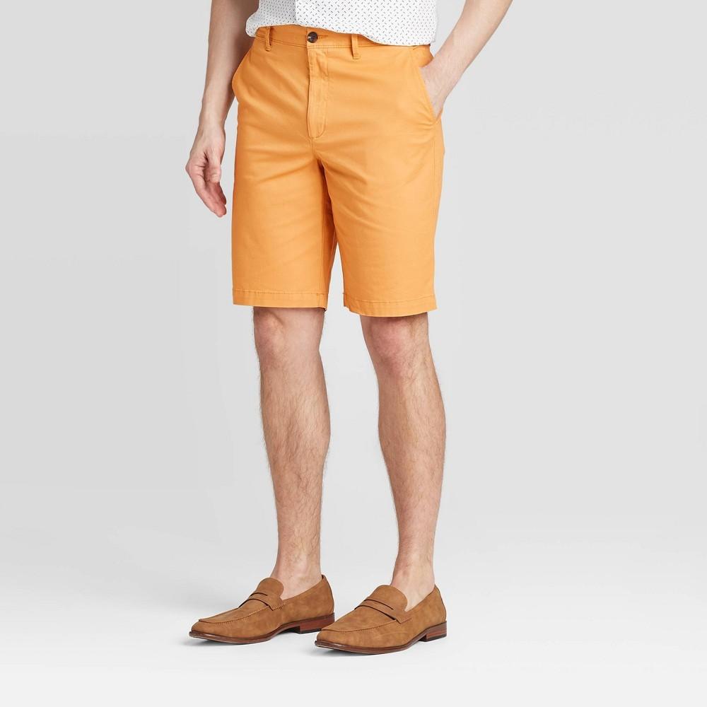 1960s Men's Clothing Men39s 10.534 Flat Front Shorts - Goodfellow 38 Co8482 $19.99 AT vintagedancer.com