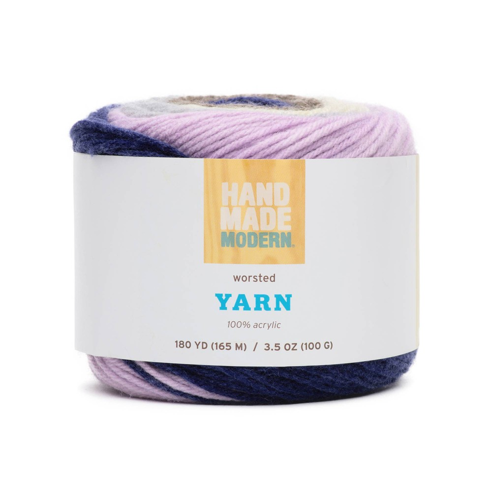 Image of 180yd Worsted Yarn - Hand Made Modern Mauve, Pink