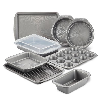 Circulon 10pc Total Nonstick Bakeware Set Gray