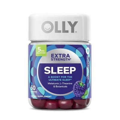 OLLY Extra Strength Sleep Gummy Supplement - 50ct