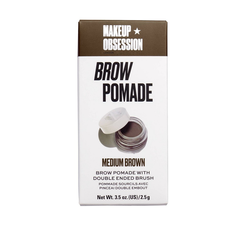Image of Makeup Obsession Brow Pomade Medium Brown - 3.5oz