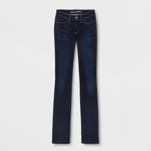 Women's Adaptive Bootcut Jeans - Universal Thread™ Dark Wash - image 1 of 3