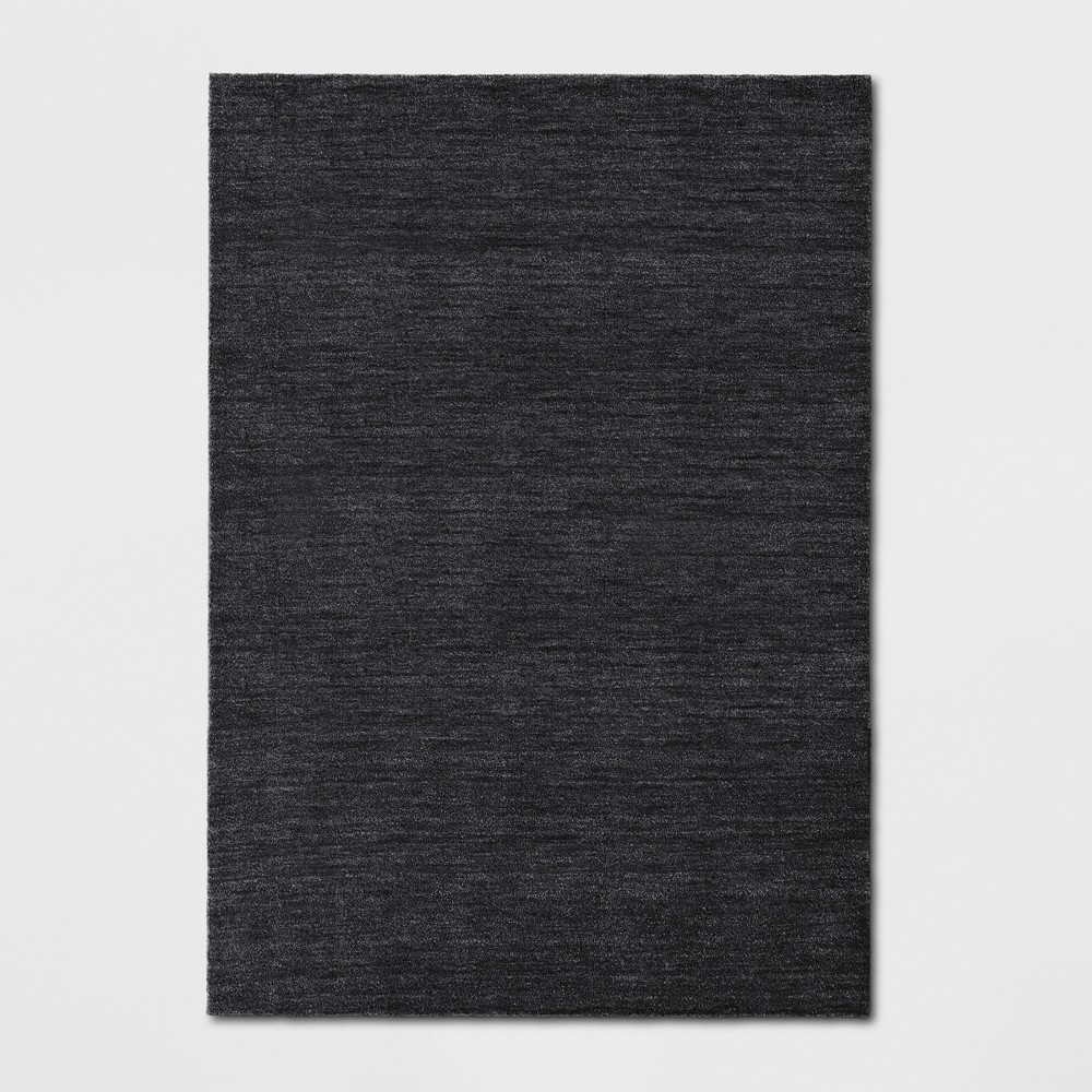 7'X10' Tie Dye Design Tufted Area Rugs Charcoal Heather - Project 62