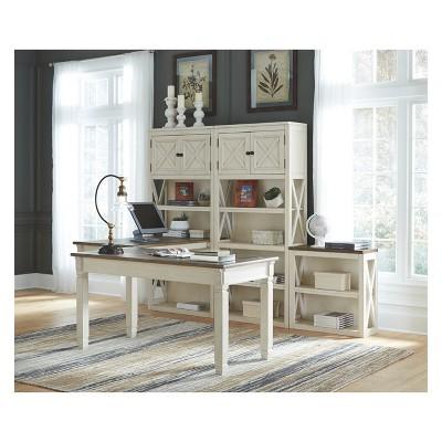 Bolanburg Home Office Desk Brown/White   Signature Design By Ashley